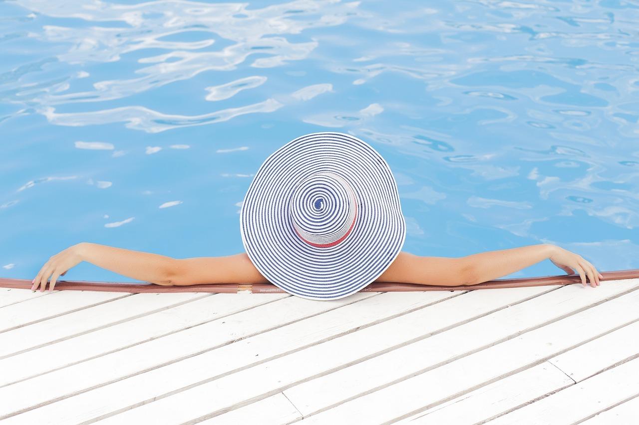 Klid u bazénu